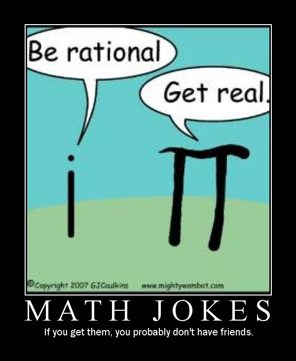 Classic Math Jokes To Relieve Exam Stress, lol