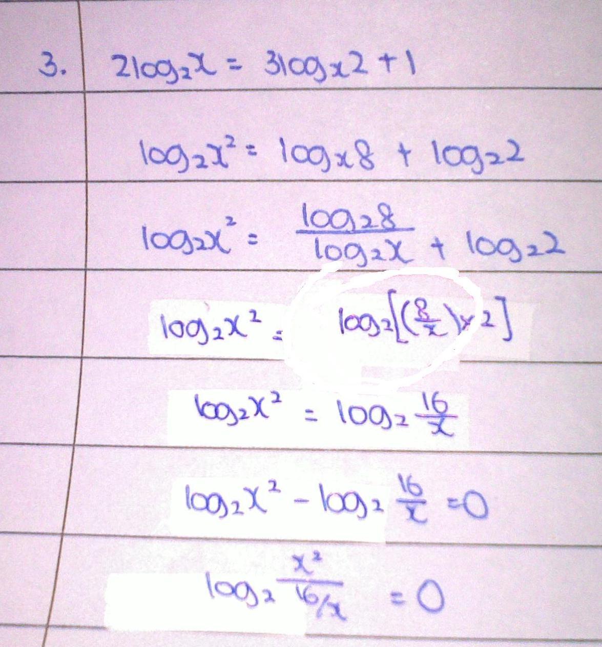 Logarithm-error