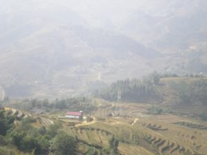 Landscape in Sapa Village