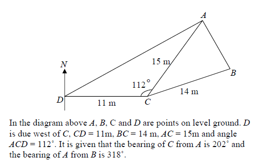 Trigonometry E-Maths Question