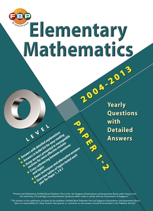 O-Level Elementary Maths Ten Years Series Book Yearly Ai Ling Ong 300